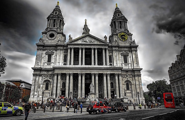 St Paul's Cathedral. Photo: Anatoleya (2012)