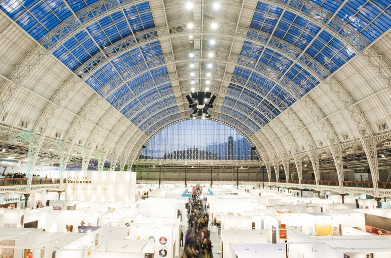 Olympia London's dramatic architecture will provide the backdrop for Art15