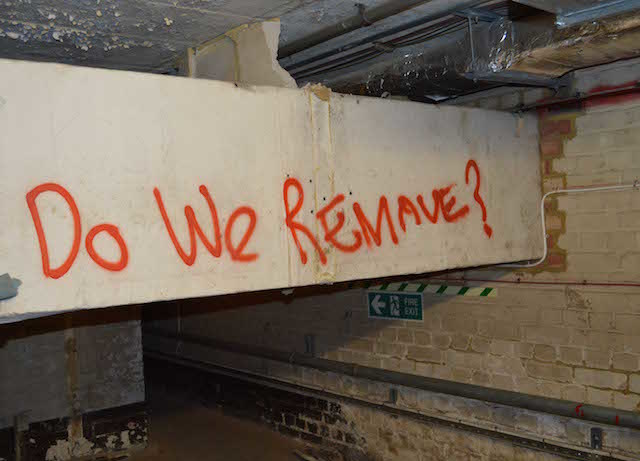 Do we remove. Photo: Sandra Lawrence.