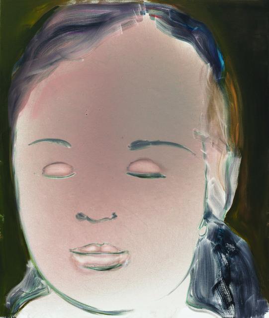 This giant painting is of Dumas's daughter Helena. © Marlene Dumas