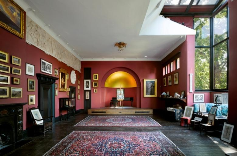 If you've been to Olympia International Art & Antiques Fair you'll love Leighton House Museum