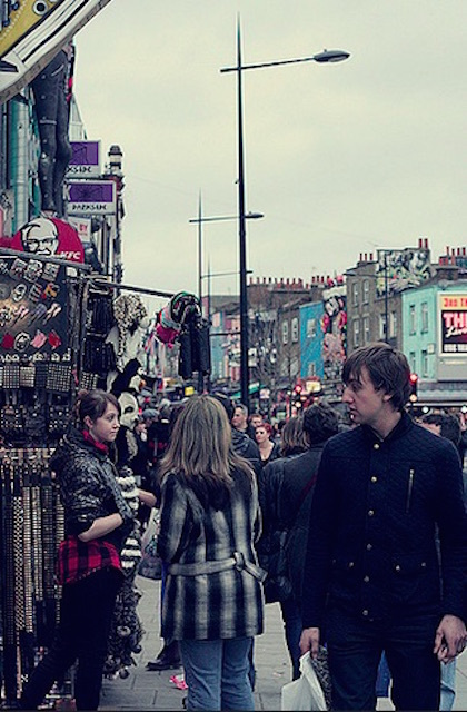 Camden Town. Photo: Sophie Garrett (2011)