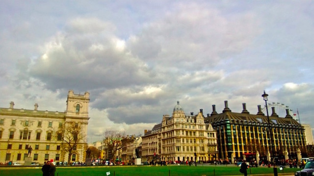 Storm brewing in Whitehall. Photo: Sule Turem (2013)