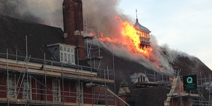 Fire Damages Battersea Arts Centre