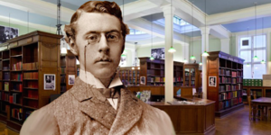 Sshh! Victorian Librarian Ronald Heaton Has Something To Say