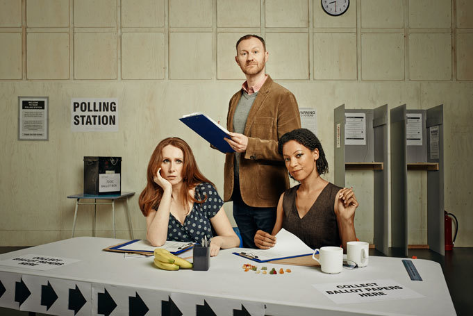 Catherine-Tate-Mark-Gatiss-and-Nina-Sosanya-in-THE-VOTE
