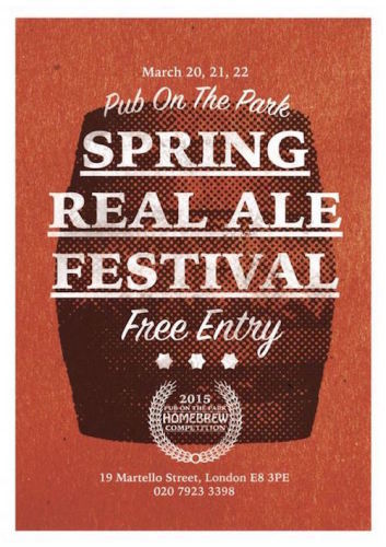 Pub on the Park Spring Real Ale Festival