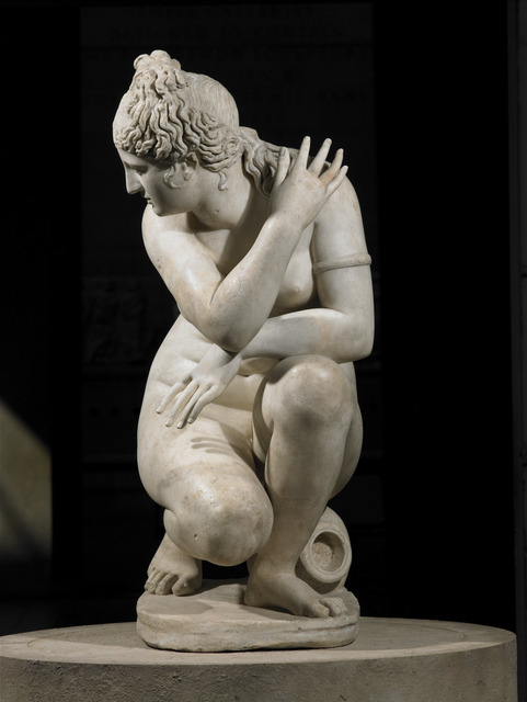 This exquisite statue of Aphrodite crouching before her bath is one of the sculptures greeting visitors as they enter.  © Her Majesty Queen Elizabeth II 2015