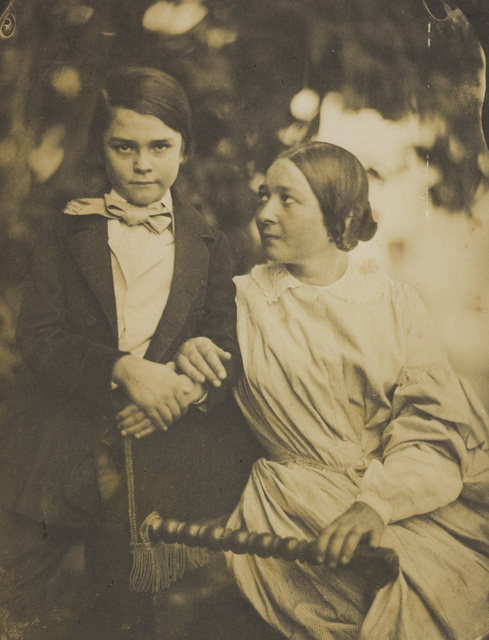 Jean-Baptiste Frenet, Thought to be a Mother and Son circa 1855 © Wilson Centre for Photography