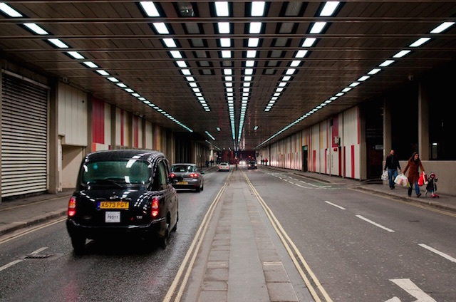 Barbican tunnel. Photo: Gigi (2011)