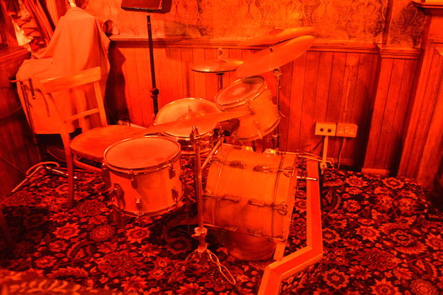 The reddest drum kit since King Crimson played Come On You Reds with Simply Red... on Mars.