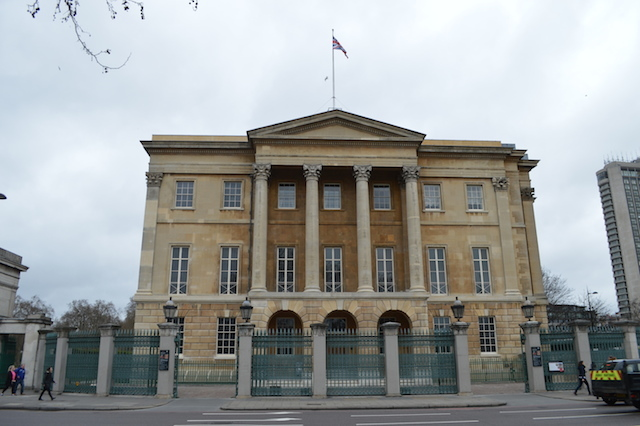 Apsley House, former home of the Duke of Wellington.