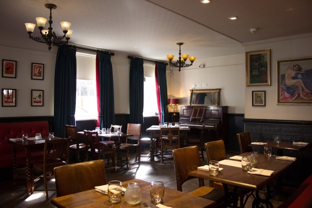 Dining at The Duchy Arms