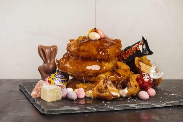 Deep-fried Easter mix