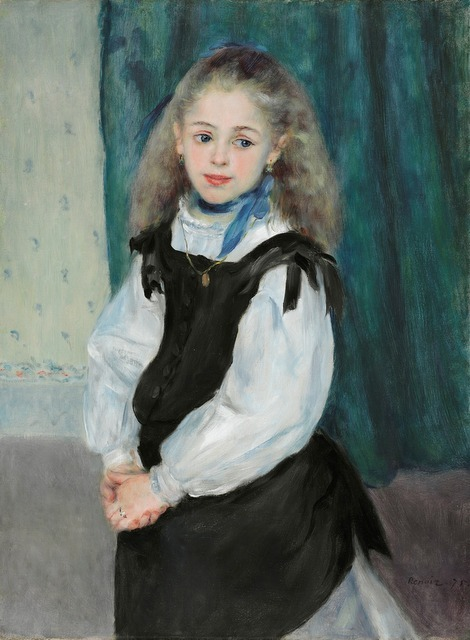 Renoir's commissions, such as this portrait of Mademoiselle Legrand, ensured a steady income. © Philadelphia Museum of Art, Pennsylvania