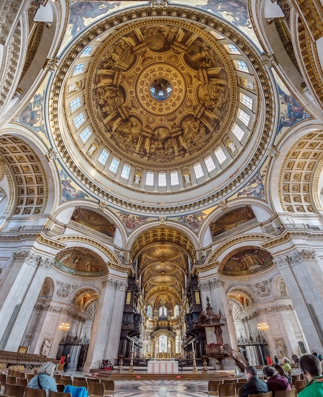 St Paul's Cathedral has one of London's most breathtaking and important  interiors. Trouble is, you're not normally allowed to photograph it. Until  now.