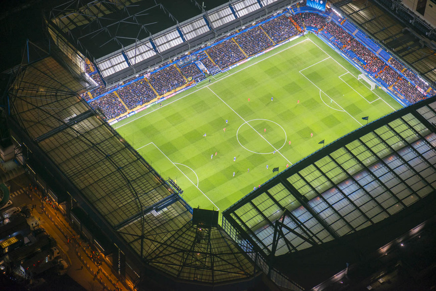 Chelsea take on Paris Saint-Germain at Stamford Bridge.