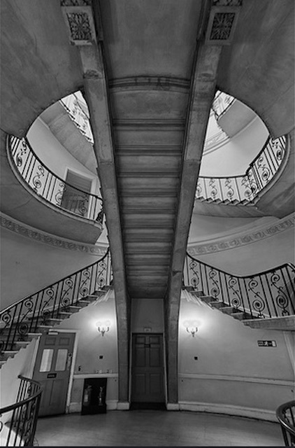 The Nelsons Stairs at Somerset House. Photo: John Esslinger (2012)