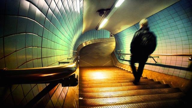 On the Underground. Photo: Katia (2009)