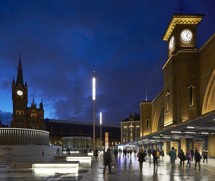 King's Cross Square, by Stanton Williams. ©Hufton Crow