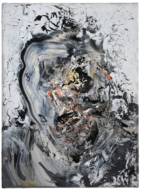 These portraits of victims are powerful paintings. Copyright Maggi Hambling, Photograph by Douglas Atfield