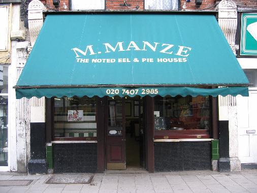 ....and M. Manze on Tower Bridge Road now