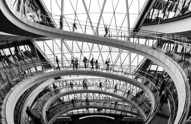 City Hall. Photo: Mark Cornick (2014)