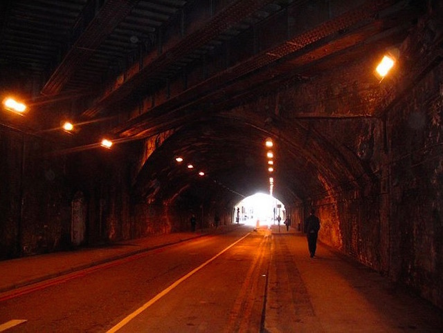 Bermondsey Street tunnel. Photo: Mike Atherton (2005)