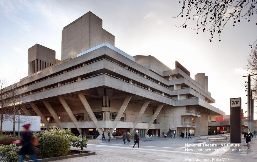National Theatre NT Future, by Haworth Tompkins. ©Philip-Vile