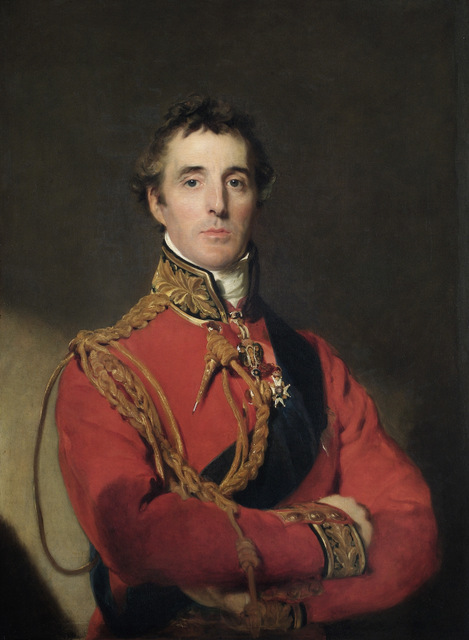 "APSLEY HOUSE, London. ""Arthur Wellesley, 1st Duke of Wellington"" c.1815 by Sir Thomas LAWRENCE (1769-1830). WM 1567-1948."