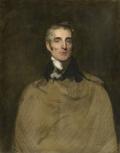 This unfinished portrait of Wellington goes on display for the first time. On loan to National Portrait Gallery by kind permission of Mr. & Mrs. Timothy Clode