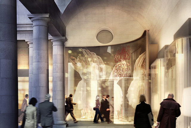 There's another new entrance planned on Covent Garden Piazza entrance © Stanton Williams 2014