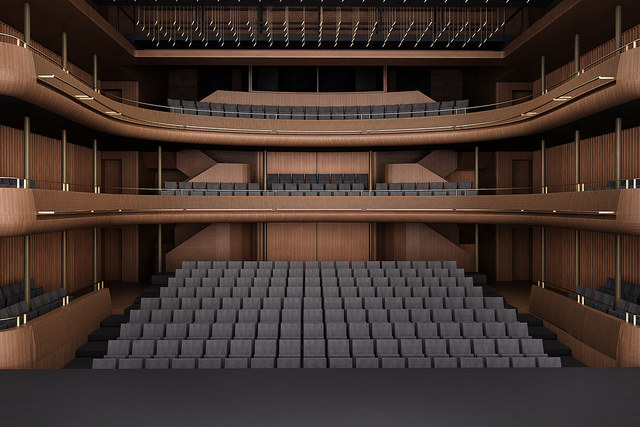 The Linbury Studio Theatre will get an overhaul too © Stanton Williams 2014