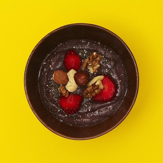 An acai berry bowl...