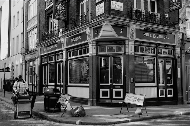 The Sun & 13 Cantons in Soho. Photo: Paul Steptoe Riley (2011)
