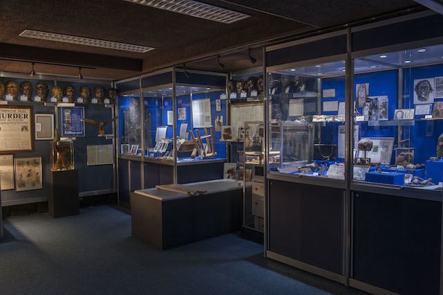 Inside the Metropolitan Police's hidden Crime Museum at New Scotland Yard, 2015