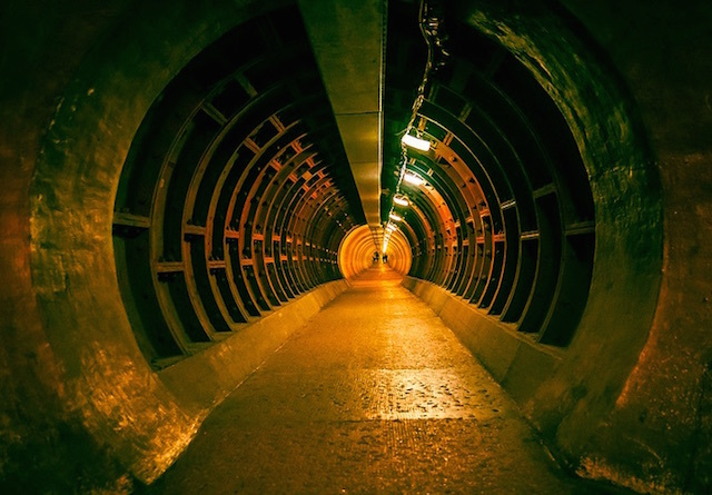 Greenwich foot tunnel. Photo: Scott Baldock (2012)