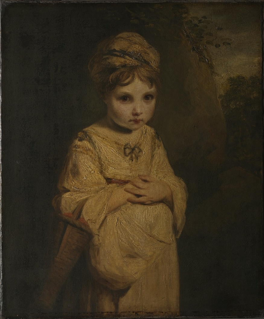 This sickly - almost alien - Strawberry Girl may be Reynolds' most original portrait. © The Wallace Collection.