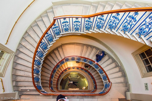 Staircase at the Courtauld Gallery. Photo: Theunis Viljoen LRPS (2014)