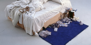 Tracey Emin's Bed Is Back At Tate Britain