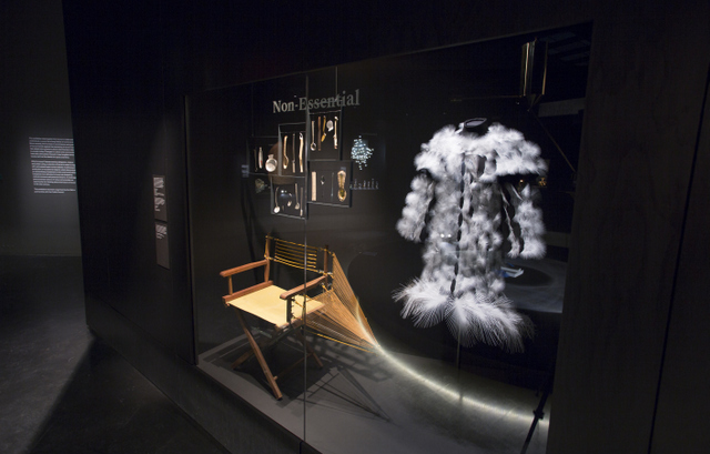 An installation image of the exhibition. Courtesy Victoria and Albert Museum, London