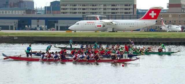 London Hong Kong Dragon Boat Festival at Royal Albert Docks. Photo: Andrew Smith (2009)