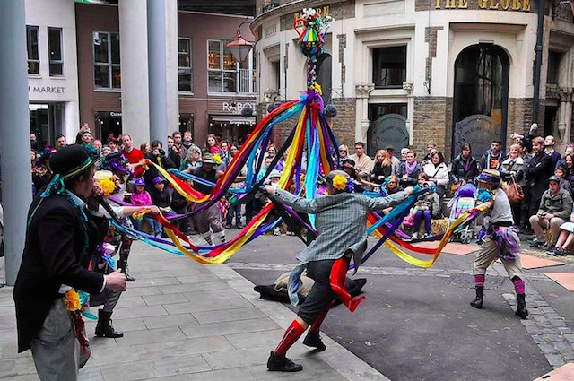 St George's Day celebrations at Borough Market. Photo: Andrew Smith (2014)