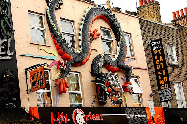 Chinese dragon in Camden. Photo: Alain (2011)