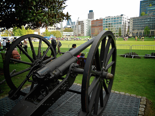 Open day 2012 at the Honourable Artillery Company. Photo by Chris