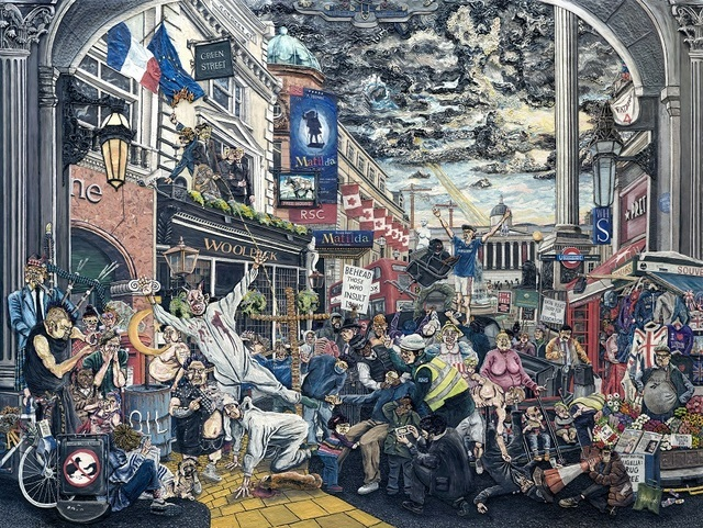 Can you spot all the London references? Copyright Henry Hudson