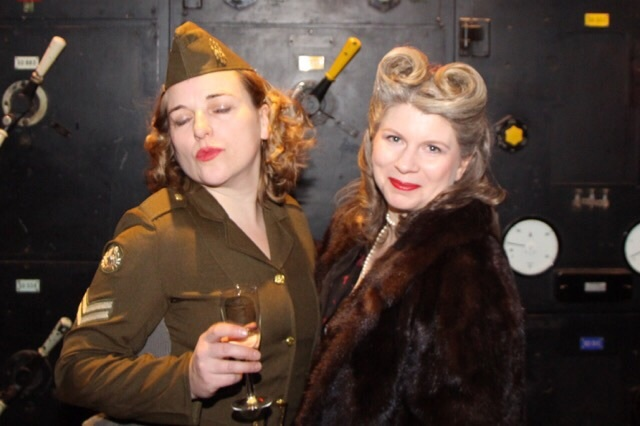 Celebrate the Blitz spirit in 40s fancy dress. Photo by Blaine Tatum