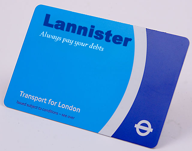 If Game Of Thrones Were Set In London...