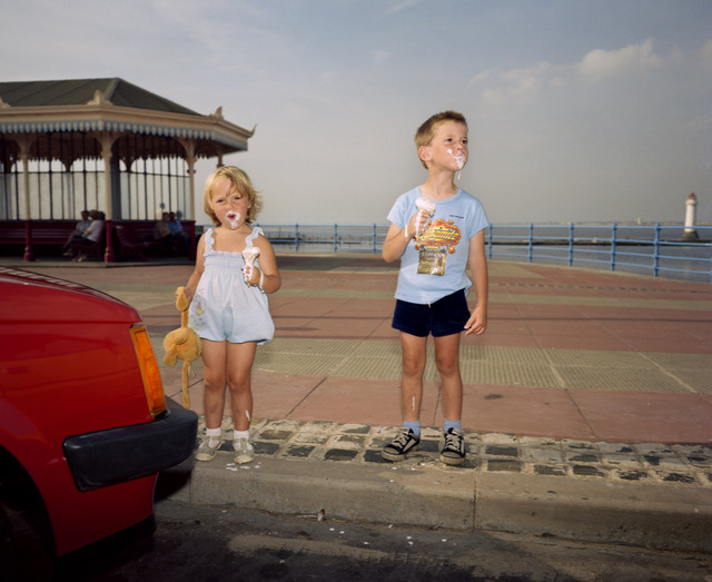 Martin Parr examines the less glamorous side of days at the beach. Copyright Martin Parr / Magnum.