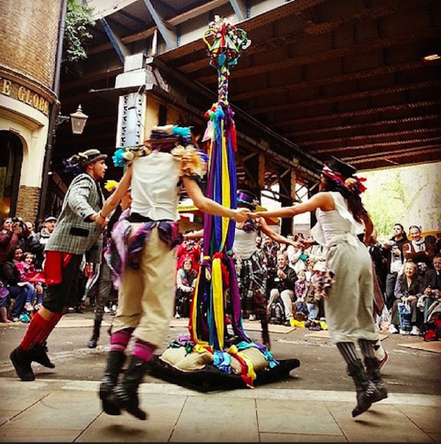 St George's Day celebrations at Borough Market. Photo: Mc Gale (2014)